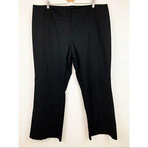 Maurices Black Dress Pants Plus 24 Regular